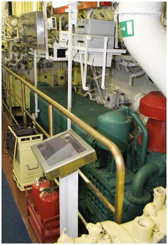 Дизель подводной лодки