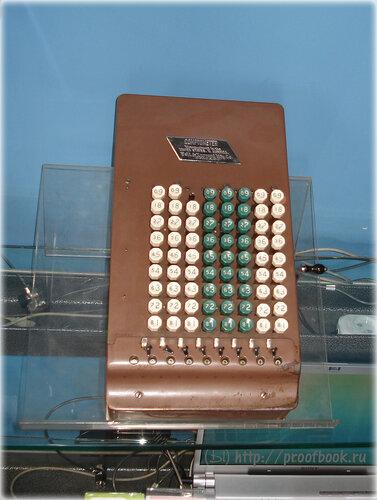 Небольшой музей ноутбуков: Comptometer