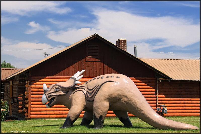 Granger - where dinosaurs roam