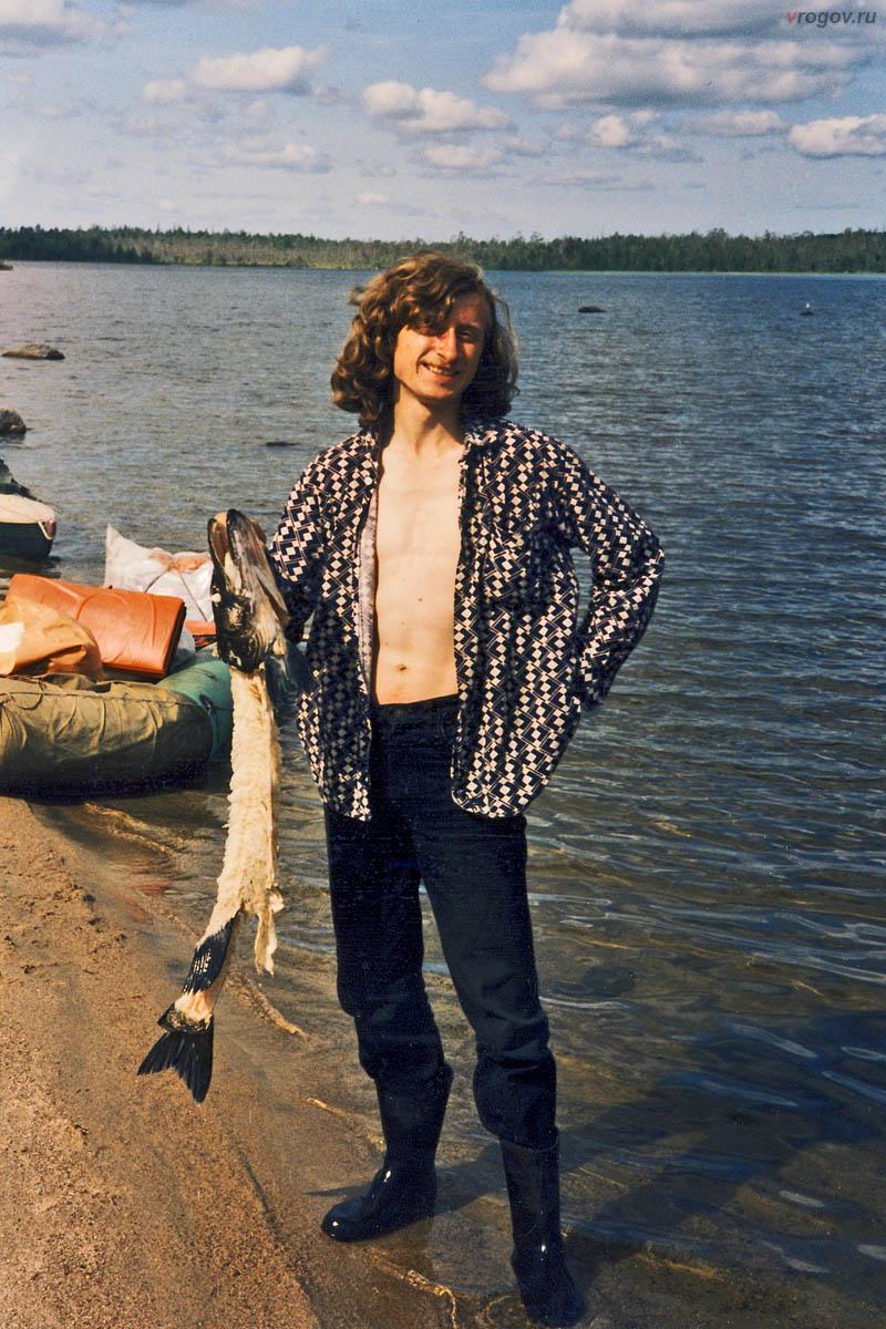 Перебравшись в озеро Лулла, обнаружили недавно съеденную щуку