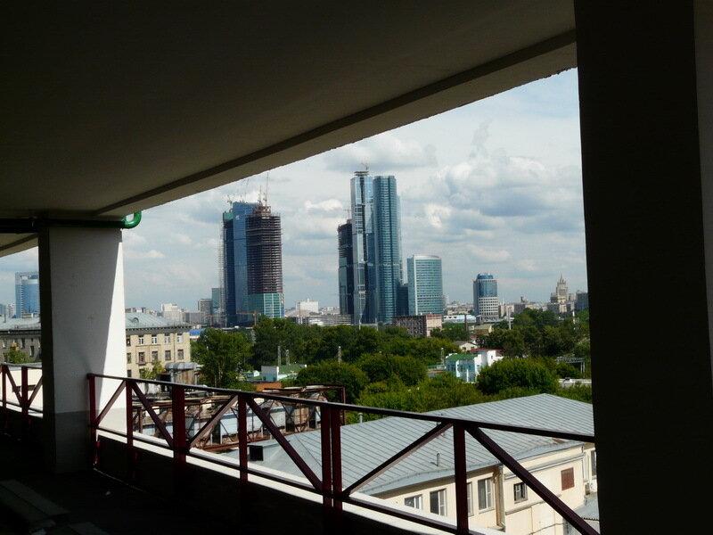 ММДЦ с крыши парковки Филион