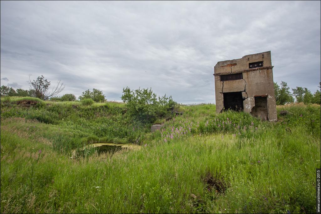 Зона обрушения шахты Магнетитовая