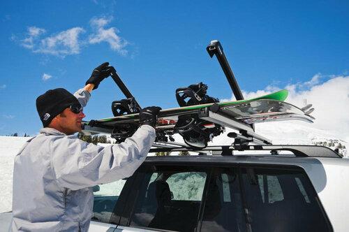Крепления для сноуборда на машину