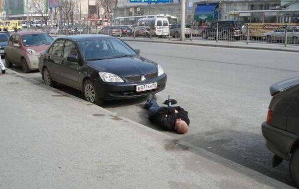 Попадаются водители, которых лучше не злить