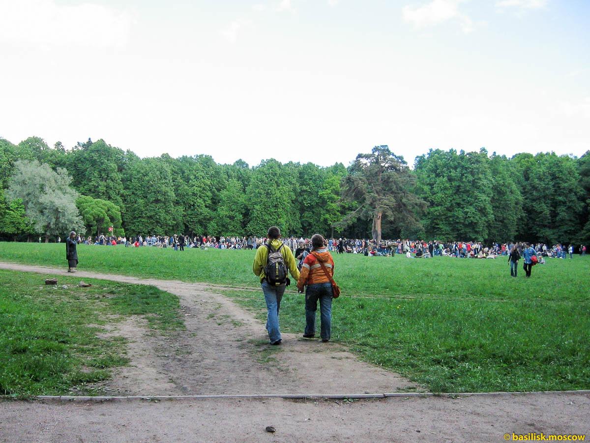Царицыно. 1 июня 2006.