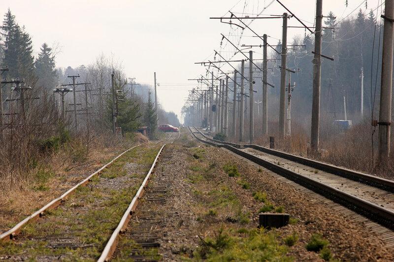 Ветка Стекольный - Тосно, вид на Тосно