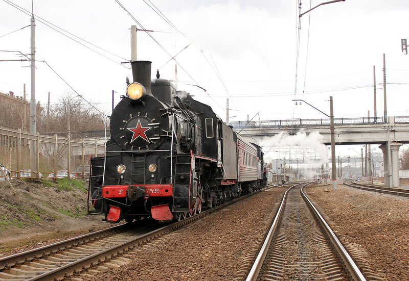 Паровоз ЭР-774-38