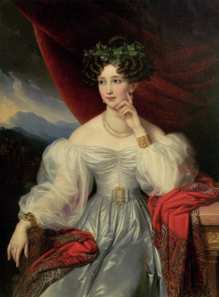 Princess Sophie of Bavaria (Sophie Fürstin von Bayern) сканAuthorJoseph Karl Stieler (1781–1858)