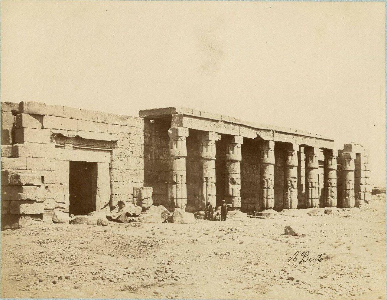 Луксор, Храм Амона