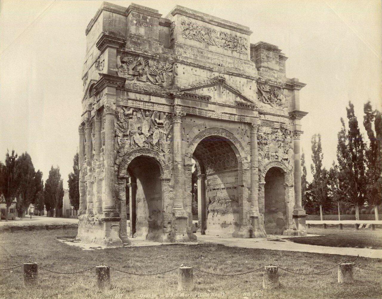 Триумфальная арка 1880-е.