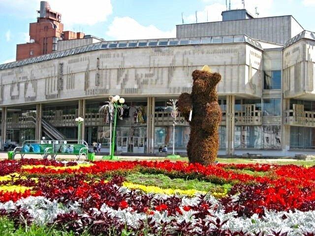 """Необычный """"Запорожец"""" в центре Ярославля."""