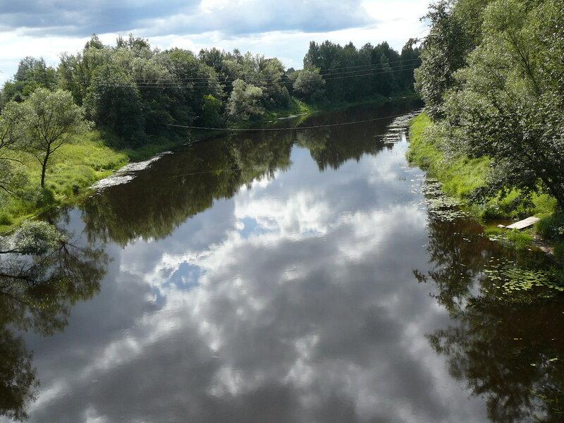 Селижарово. Вот такая здесь Волга.