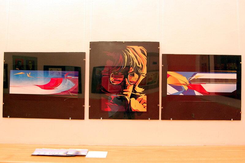 Благотворительная выставка иллюстраций «i»