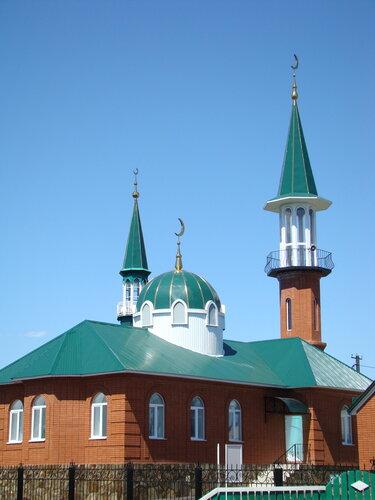 мечеть деревни Кинзябулат