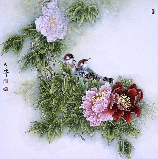 Lou Dahua - китайская живопись.