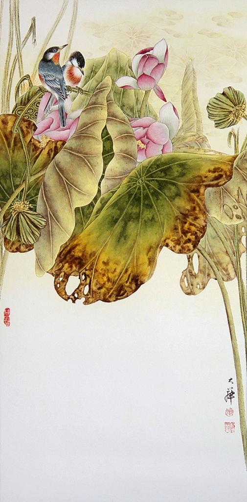 Lou Dahua - китайская живопись