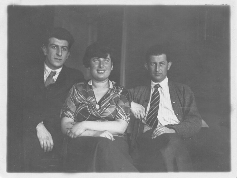 С братьями Фейнбергами