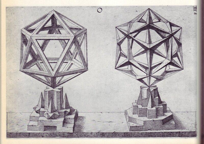 Perspectiva Corporum Regularium - Wenzel Jamnitzer 1568 h