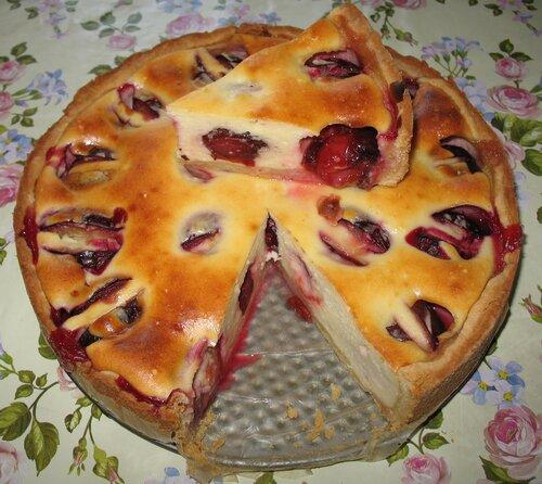 Пироги из слив