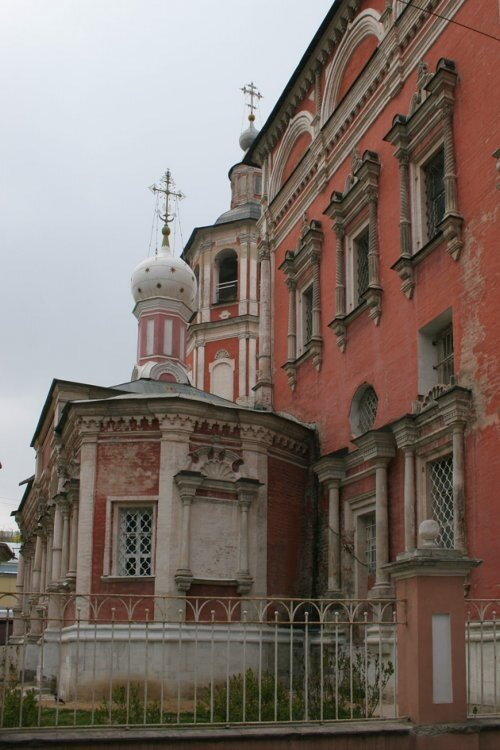 Церковь Введения во храм Пресвятой Богородицы в Барашах.