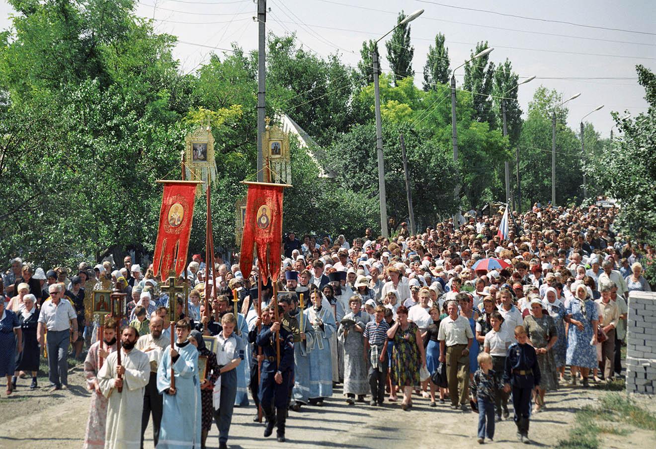 Поминовение погибших в Буденновске, 1995 год