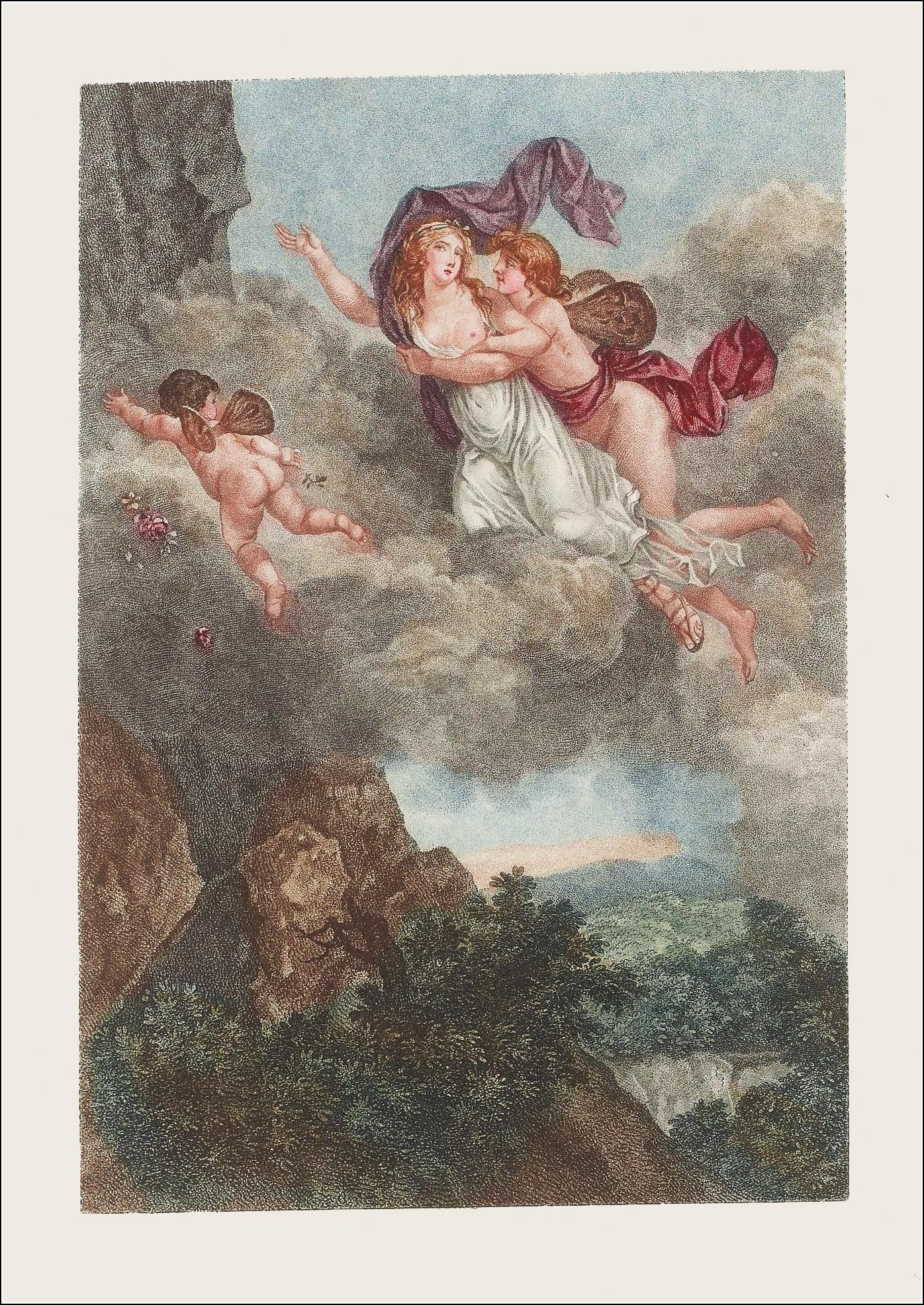 Jean Frédéric Schall, Les amours de Psyché et de Cupidon