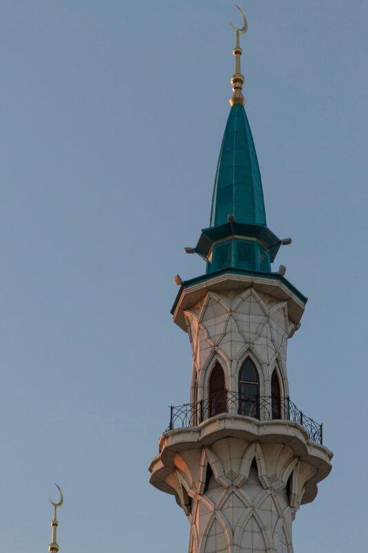 Минарет мечети Кул-Шариф