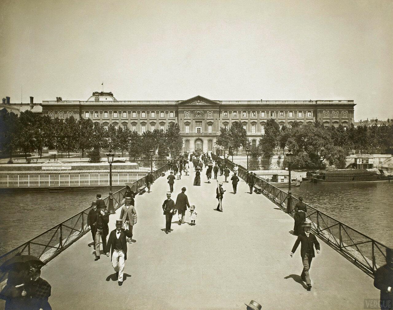 1889. Мост Искусств