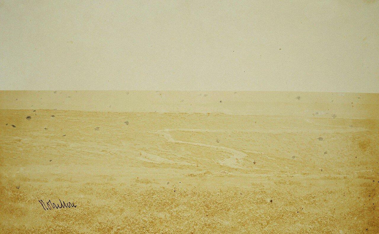 Окопы на поле у Инкермана