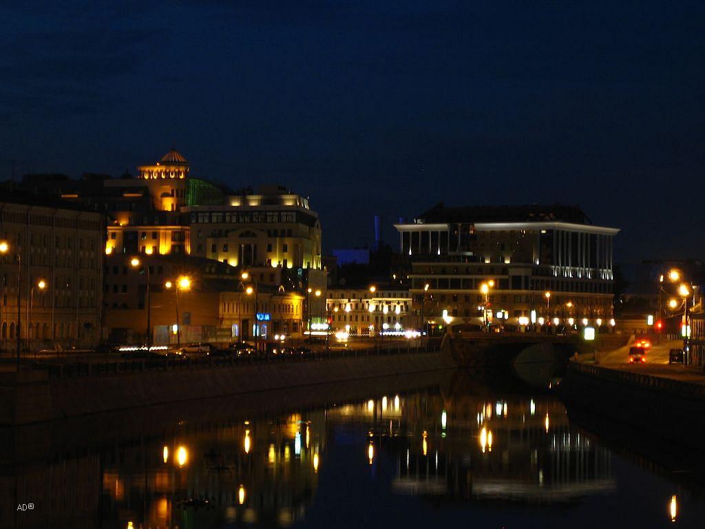 Прогулка на Болотной площади
