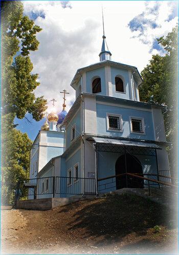 Храм Рождества Пресвятой Богородицы селя Клишино