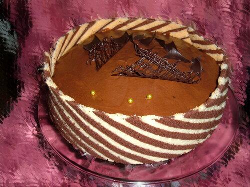 Плосатый бисквит, три мусса и лаванда - Про меня, торты, их украшение и всякую прочую ерунду