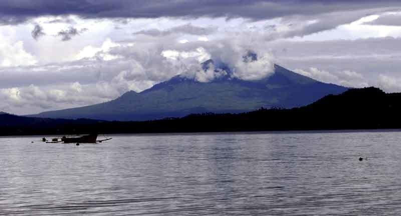 Вулкан Клабат (Сев.Сулавеси)