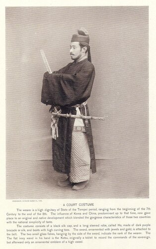 A Court Costume
