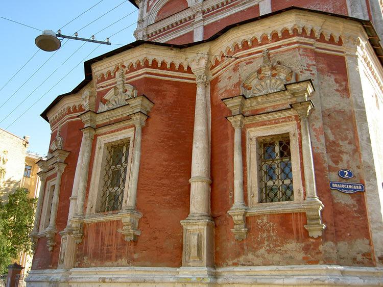 Церковь Введения в Барашах. Абсиды.