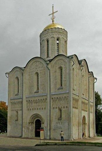 Дмитровский собор во Владимире. 12 век.