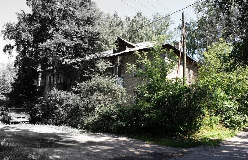 Cтарый мытищинский дворик
