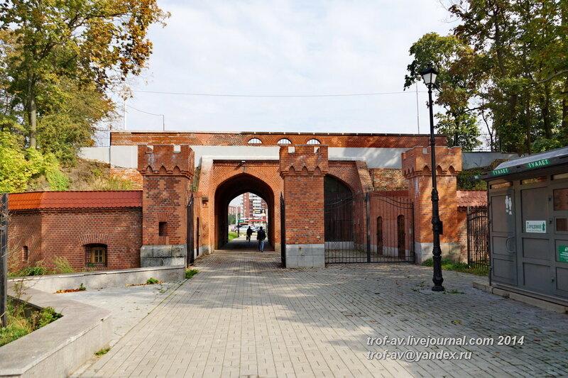 Железнодорожные ворота, Калининград