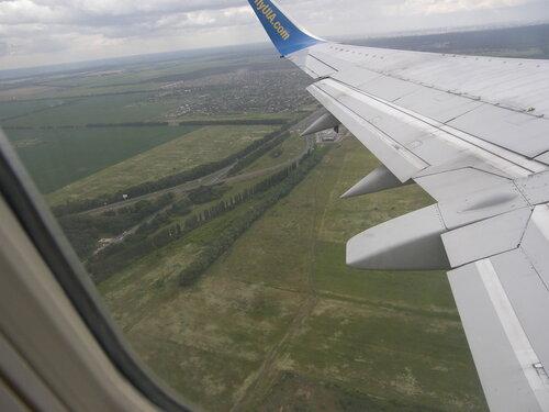 2015-07-02 Borispol - Boing 737 vzlet - Aufwiedersehen Ukraine!