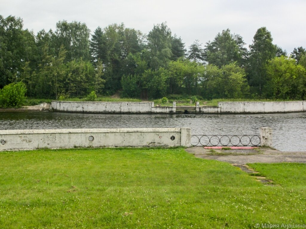 Заградворота №114, канал имени Москвы