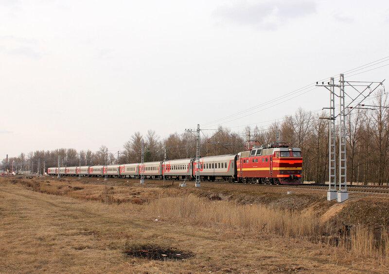 ЧС2Т-1006 на станции Колпино
