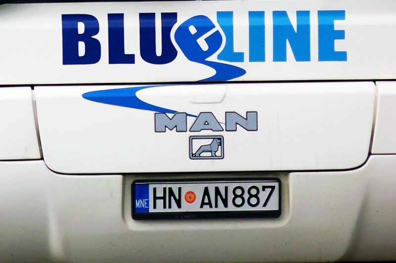 Автобус Blue line