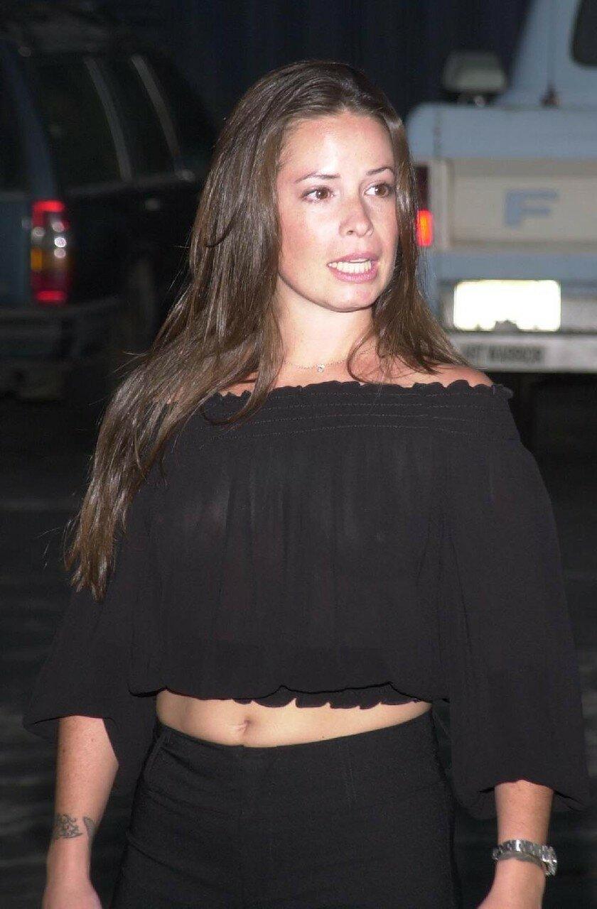 Holly marie combs see through