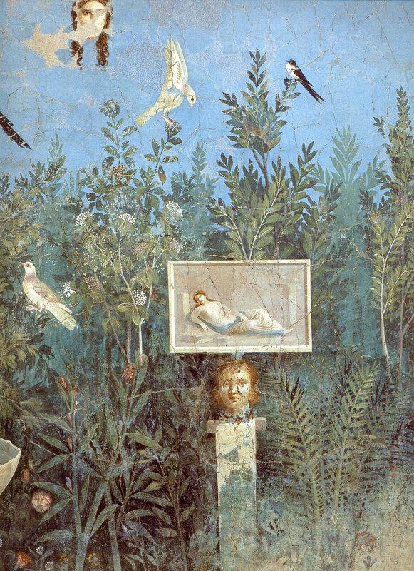 Сад в Доме золотого браслета