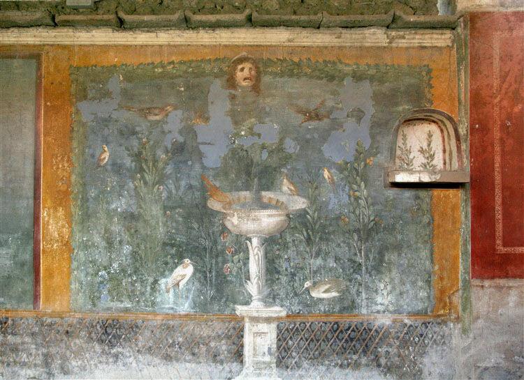 Сад в Доме Венеры в раковине