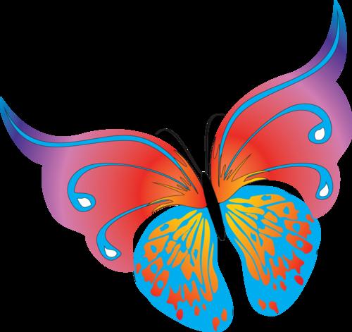 смайлики бабочки: