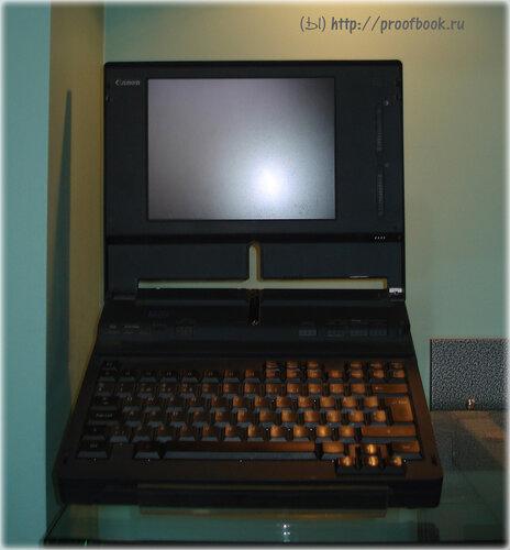 Небольшой музей ноутбуков: Canon NoteJet 486 (BN22)