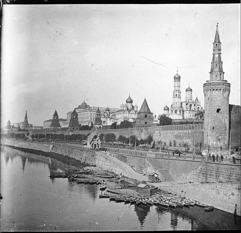 Московский Кремль. Из архива Т. Яржомбека