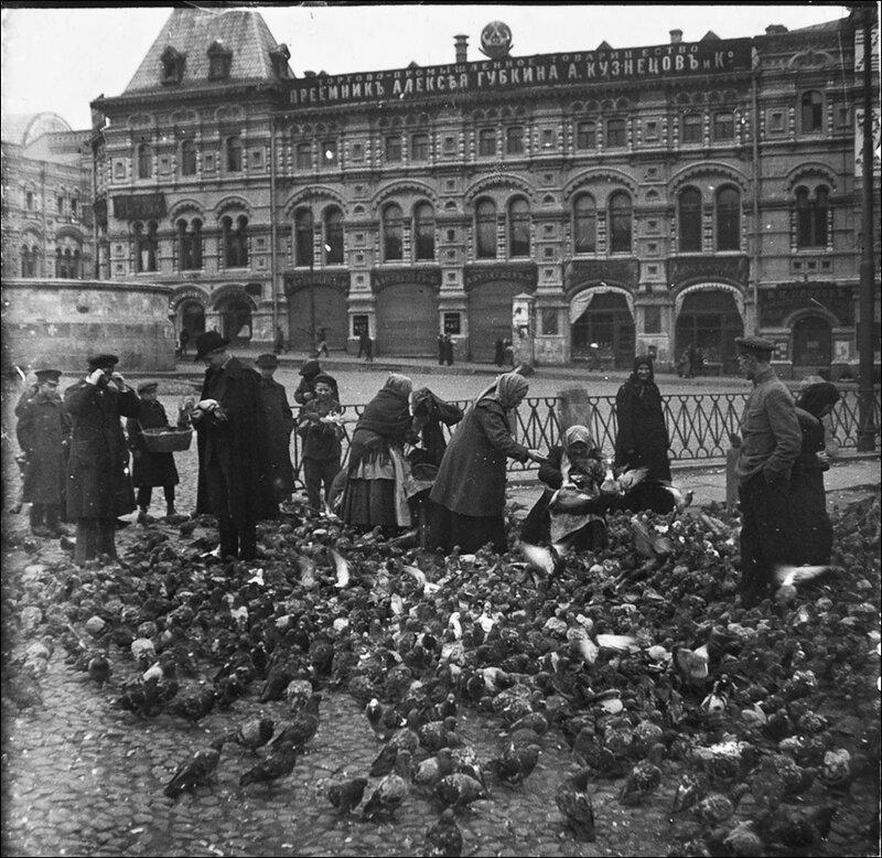 У Лобного места на Красной площади. Из архива Т. Яржомбека