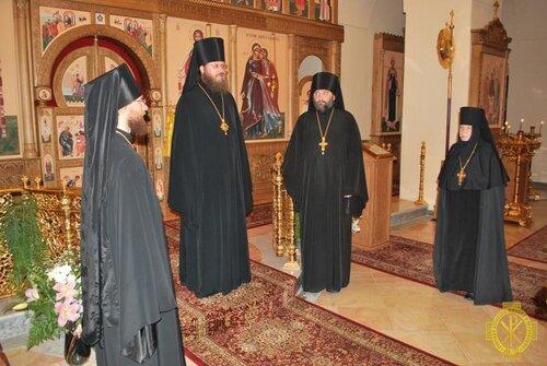 Праздник Рождества Иоанна Предтечи в Горненском монастыре.